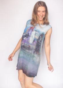 """""""Ponte"""" woman's dress"""