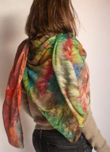 """Astratto"" women's foulard"