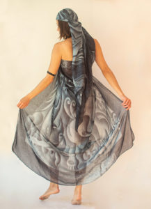 """Sogno"" women's foulard pareo (sarong)"